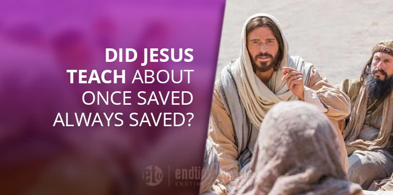 once saved always saved parable of unforgiving debtor